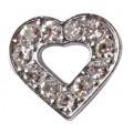 Accessoire bijoux, coeur