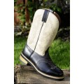 Bottes western -Light cow-